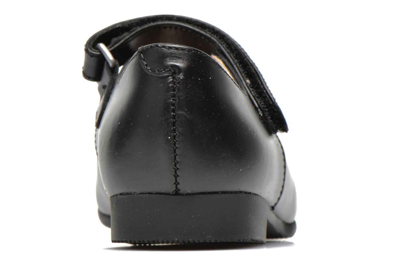 Delphine Black leather